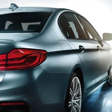 2020 BMW 5 Series Rear
