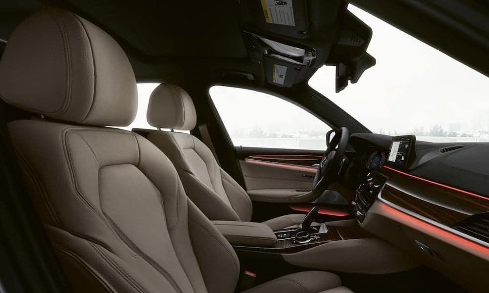 2020 BMW 5 Series Front Interior