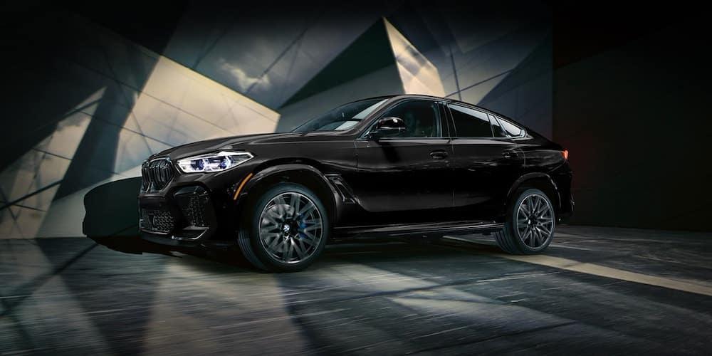 Black 2020 BMW X6 M Series