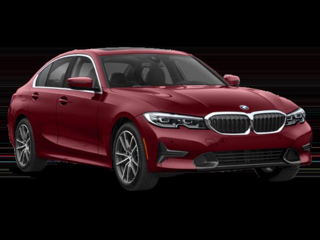 Dark Red 2020 BMW 3 Series