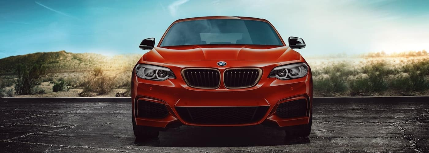 Red 2020 BMW 2 Series Front End