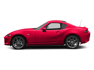 Image of a new red Mazda MX-5 Miata RF