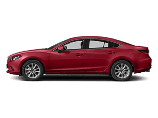 Image of a new red Mazda 6