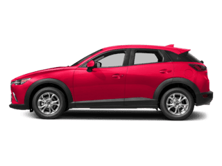 Image of a new red Mazda CX-3
