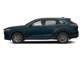 Image of a new dark blue Mazda CX-9