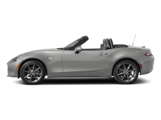 Image of a new silver MX-5 Mazda Miata