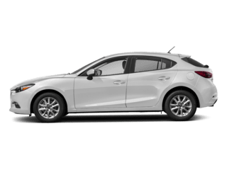 Image of a new white Mazda 3 5-Door