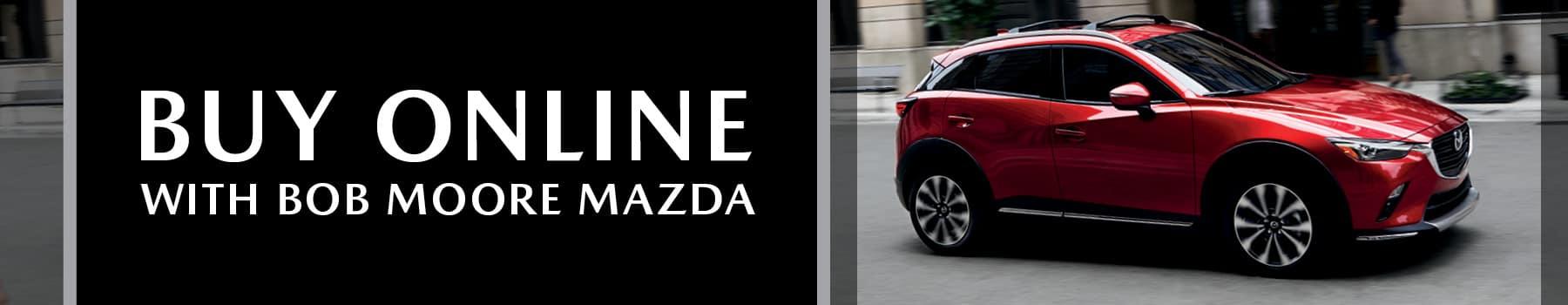 Buy Mazda Vehicles Online Banner