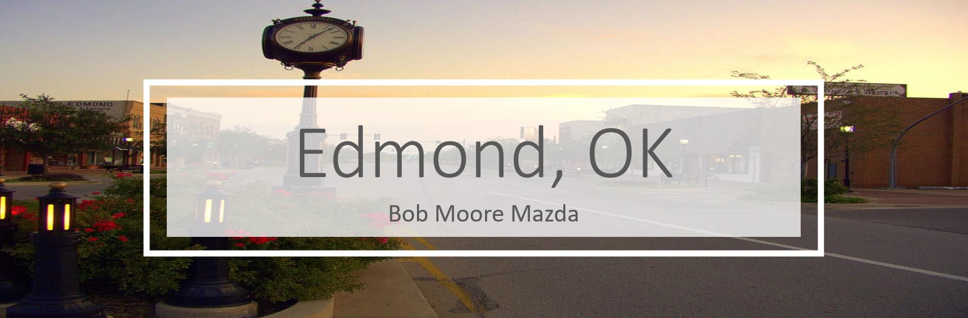 Mazda dealer serving Edmond