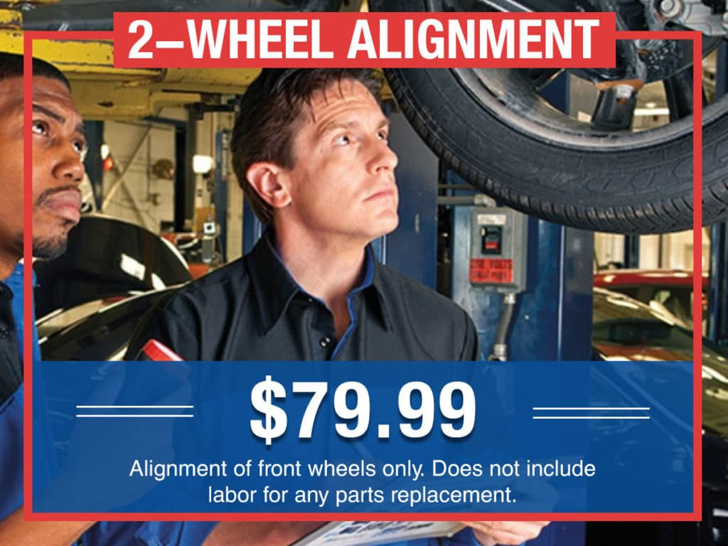 2-wheel Alignment Coupon