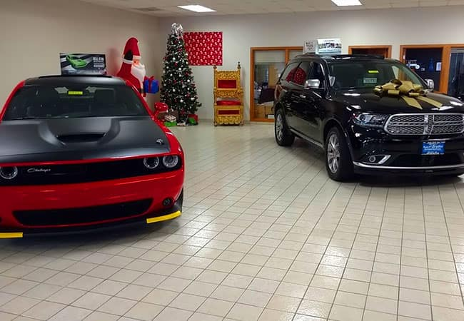 Bryden Motors Showroom - Holiday Season