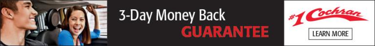3-Day Money Back Banner