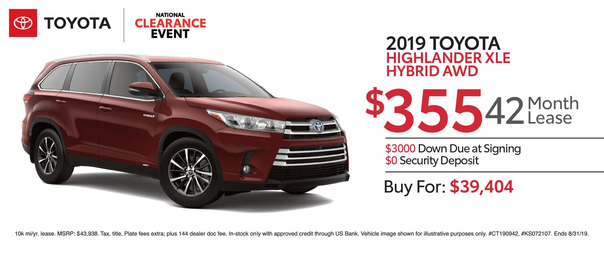 New Toyota Lease Offers | New Toyota Specials near