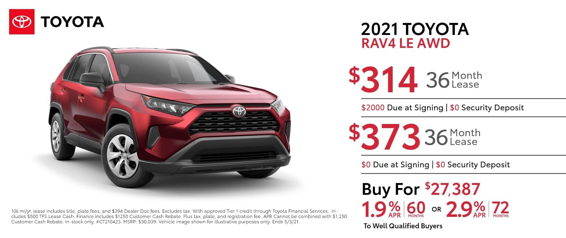 2021-Toyota-Rav4-LE-AWD