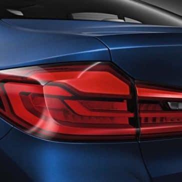2019 BMW 5 Series rear view