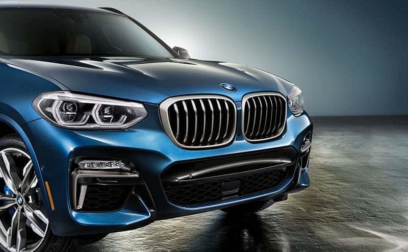 2019 BMW X3 front exterior