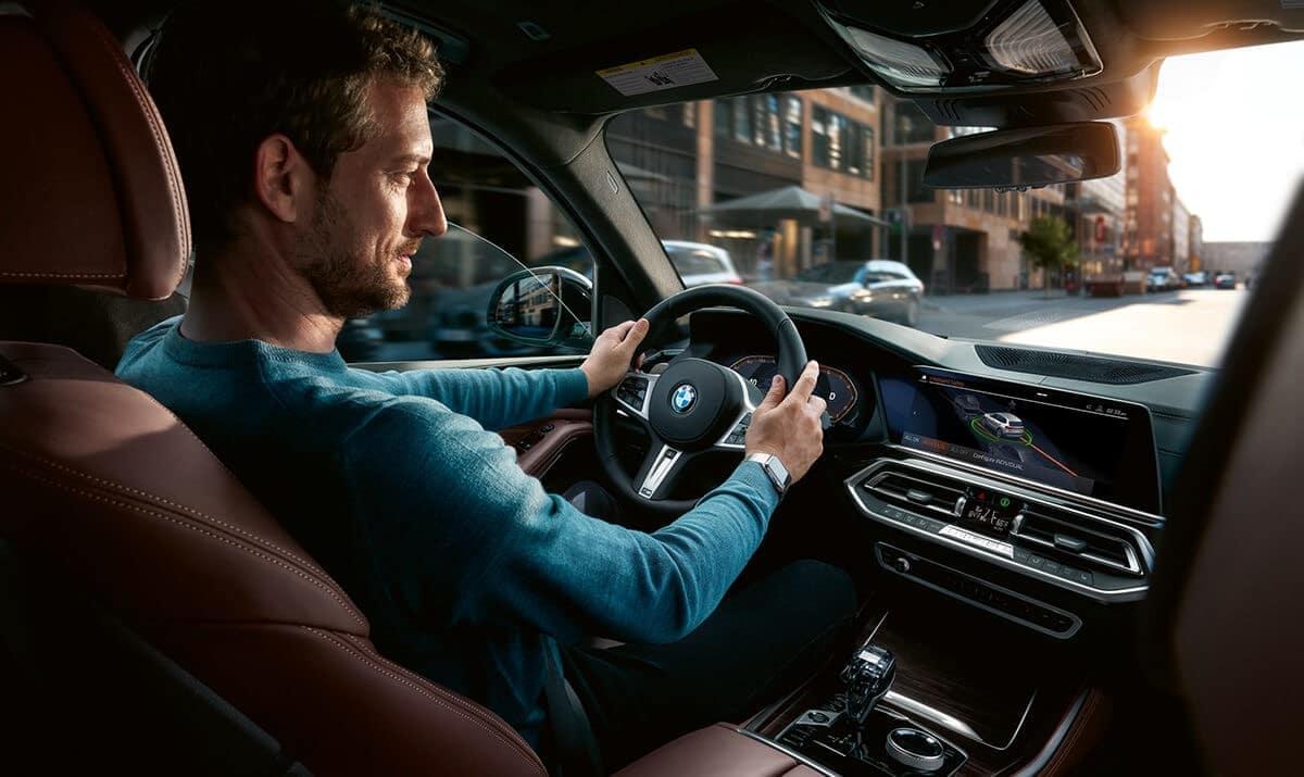2019 BMW X5 front interior