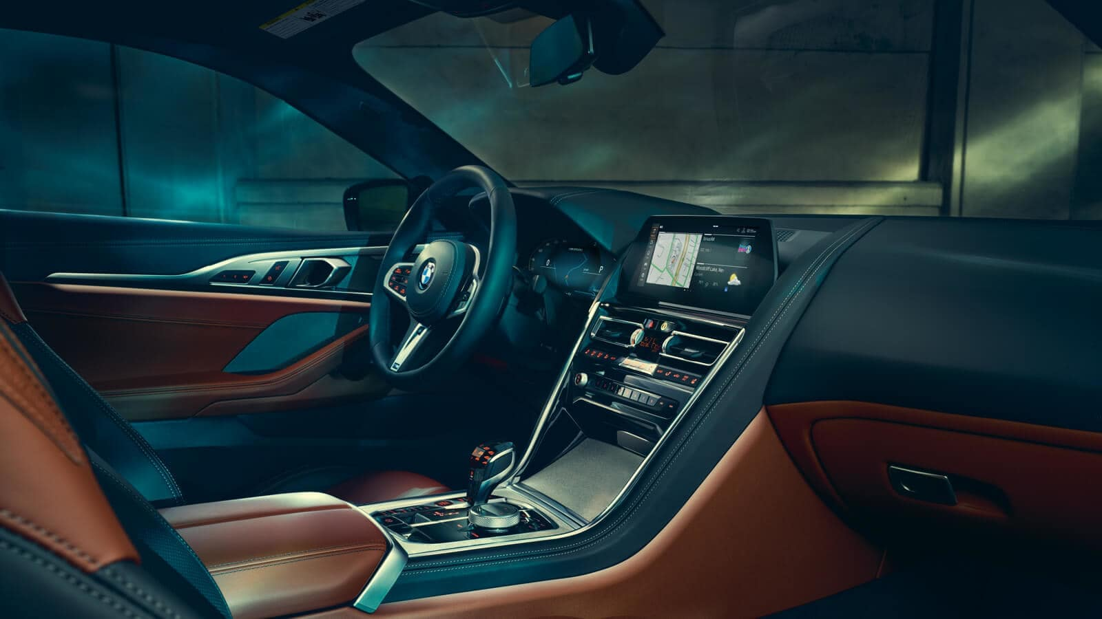 2019 BMW 8 Series front interior