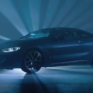 2019 BMW 8 Series in front of light