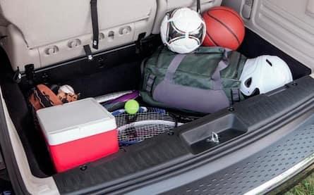 2017 Dodge Grand Caravan cargo space