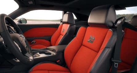 2018 Dodge Challenger seats