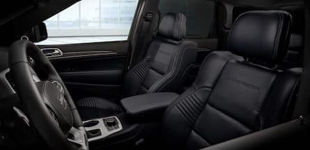2018 Jeep Grand Cherokee seating