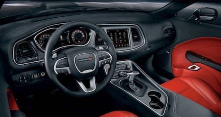 Cabin of the 2018 Dodge Challenger