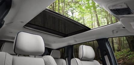 Cabin of the 2018 Jeep Grand Cherokee