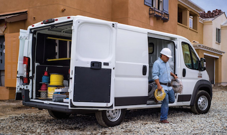 Exterior of the RAM ProMaster