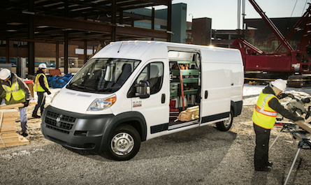 RAM ProMaster on the job site
