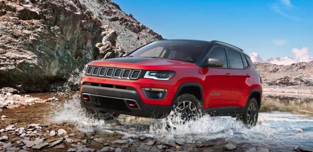 2019 Jeep Compass 4x4 off-road