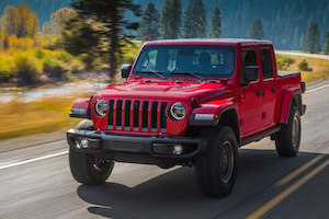 2020 Jeep Gladiator Trims