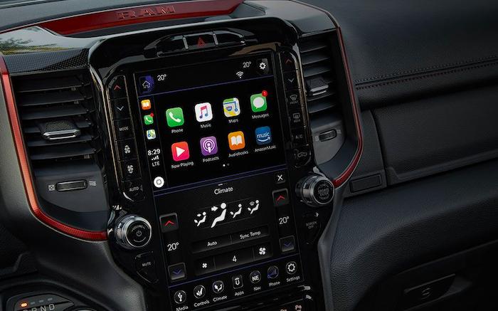 Apple CarPlay in the 2020 RAM 1500