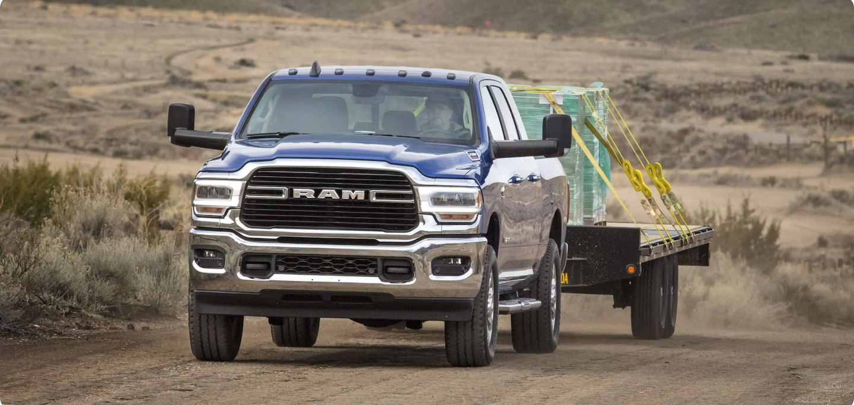 2021 RAM 2500 vs. 2021 Ford F-250
