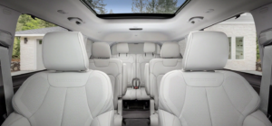 An inside look at all three rows of the 2021 Jeep Grand Cherokee L.