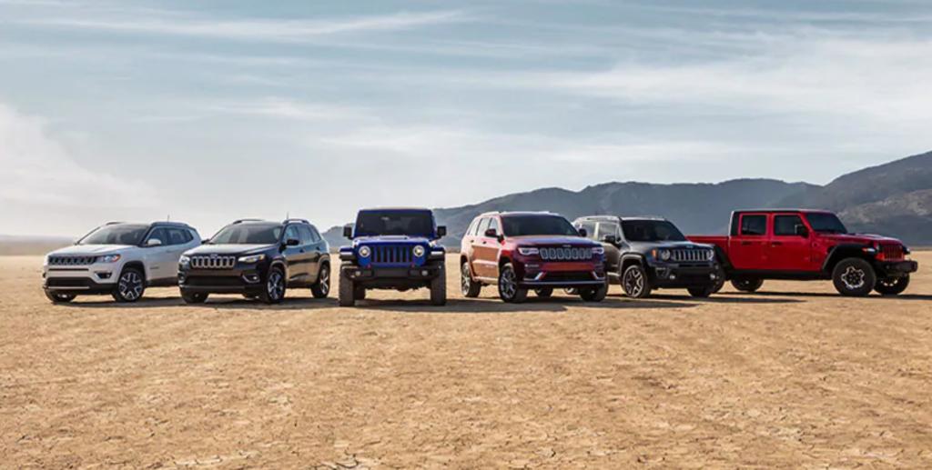 Custom Order a Chrysler Dodge Jeep vehicle or RAM truck