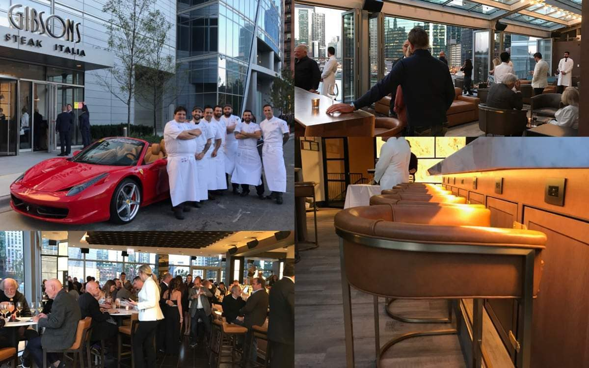 Gibsons Italia Grand Opening in Chicago, IL