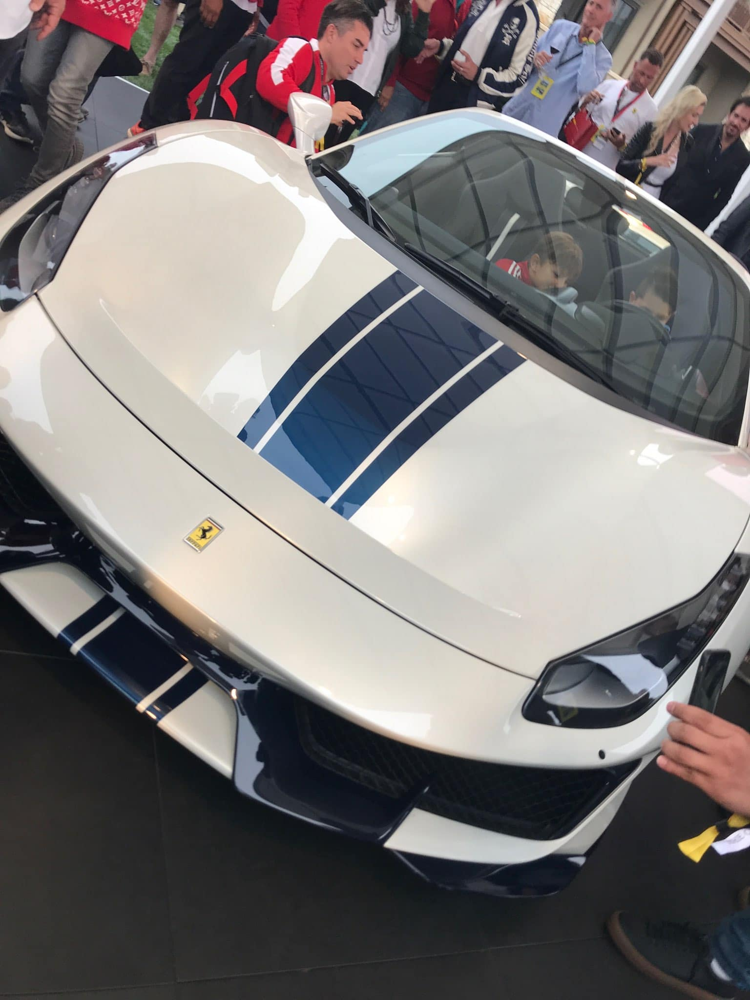 Pebble Beach 488 Pista Spider 2