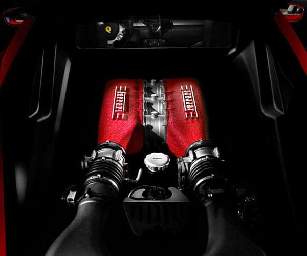 Ferrari 488 Engine
