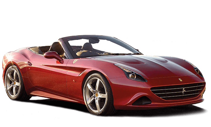 Ferrari California T Angled Red Exterior