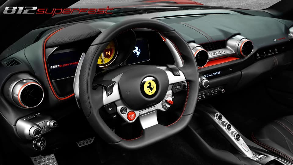 812 Superfast interior