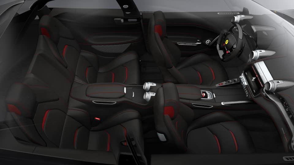 Ferrari GTC4Lusso T interior