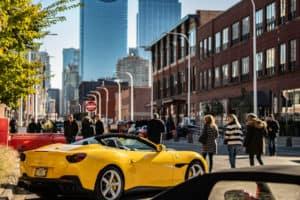 Westloop Yellow Ferrari