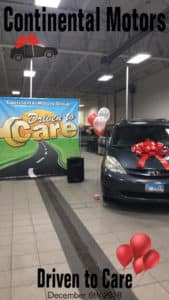 Driven to Care Vehicle