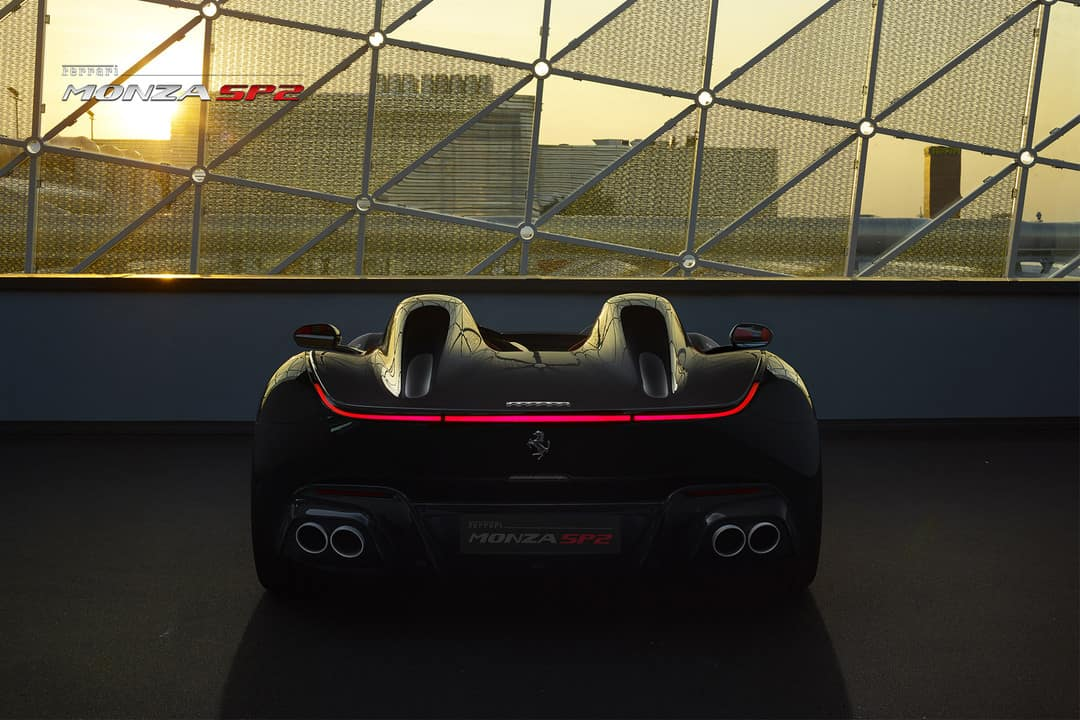 Monza SP2 rear end