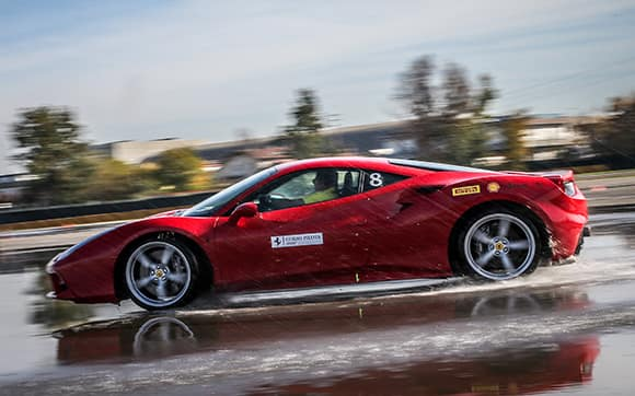 Driving a Ferrari on water