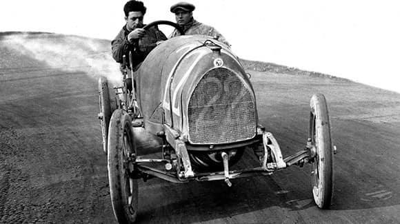 Enzo Ferrari Driving