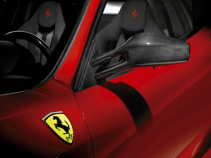 Ferrari F430 Scuderia Interior