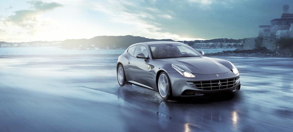 Ferrari FF driving