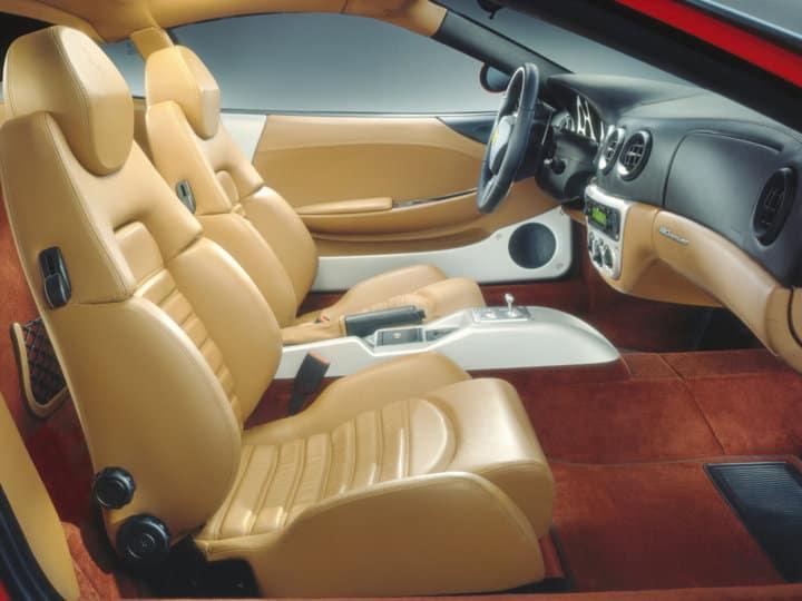 360 Modena interior